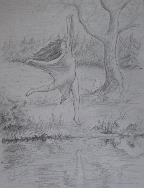Tanec vodní žínky