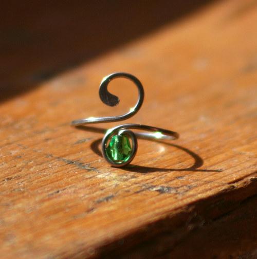 Ocáskový prstýnek