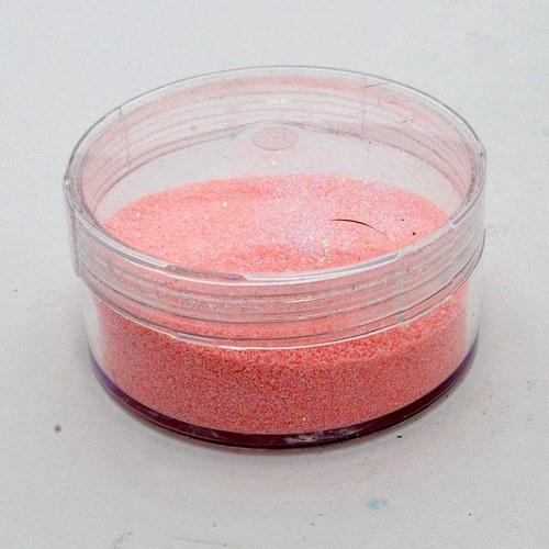 Embossovací prášek s glitry / Růžový