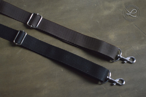 Klasický nastavitelný popruh na kabelku 2,5 cm