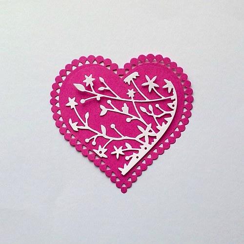 Výsek - Srdce rozkvetlé