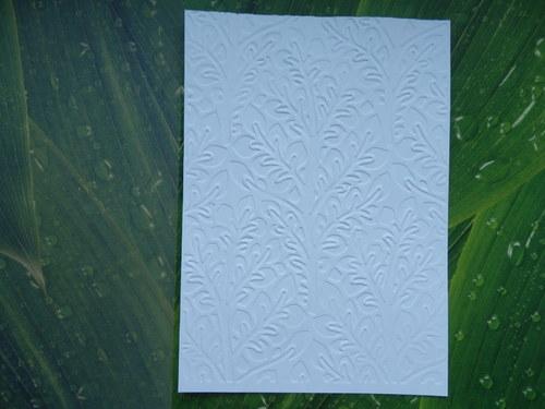 embosovaný papír č.7