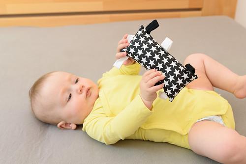Montessori úchopový polštářek - hvězdy