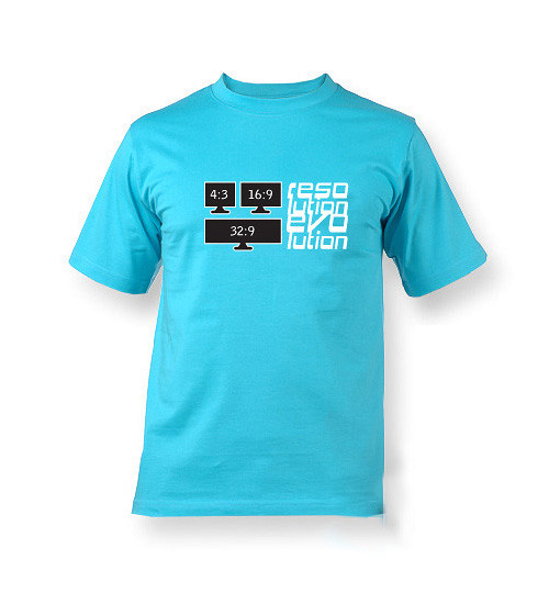 Resolution evolution - tričko s potiskem
