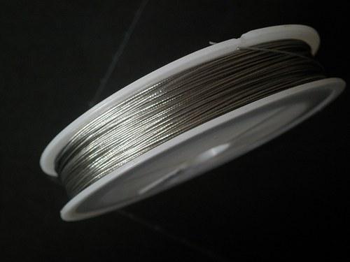 Lanko stříbrná, kotouč 80 metrů