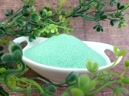 perlivá sůl EUKALYPT: výroba koupelové kosmetiky