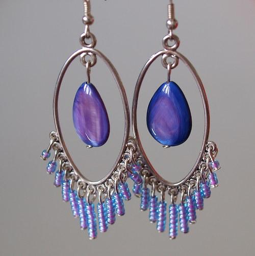 Fialová perleť