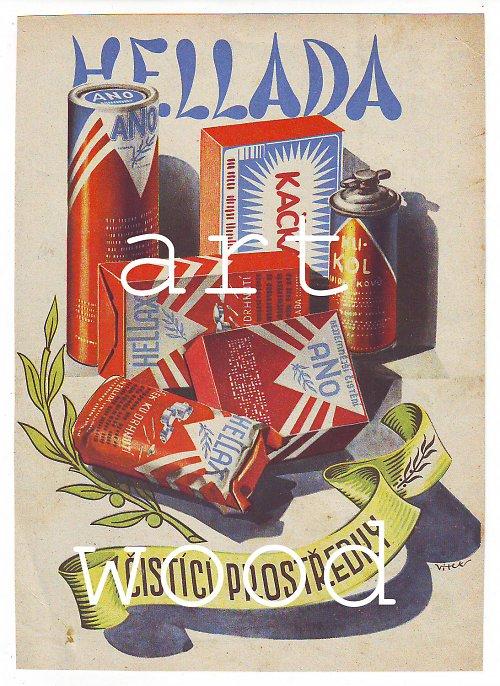 Reklama HELADA z roku 1942 - číslo 154