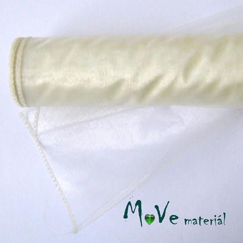 Organza krémová I. š. 35 cm/ 1m