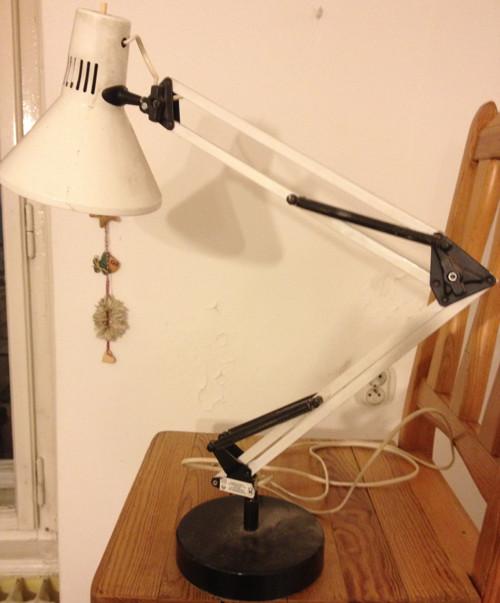 lampa stolní retro