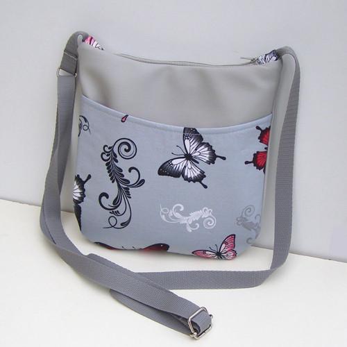 Výprodej Sivá kabelka