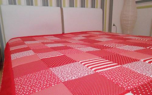 svatební dar patchwork deka a vankúš za super cenu