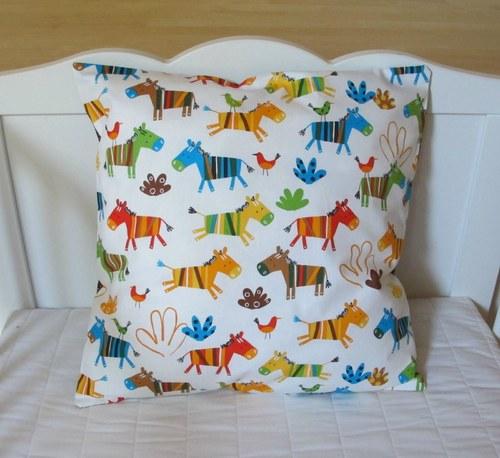 povlak na polštářek -zebry