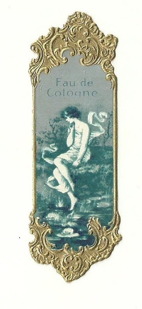 Etiketa od parfumu, parfumerie Secese