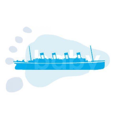 Razítko Titanic