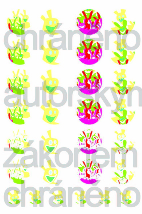 Obrázky do pryskyřice - jaro8