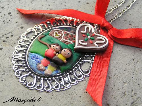 Pohádky: Jeníček a Mařenka - náhrdelník