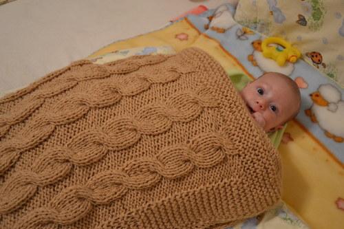 Pletená/háčkovaná deka
