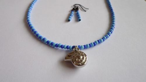 náhrdelník s mušlí