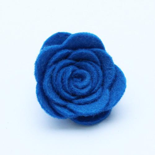 Ozdoba do klopy - modrá květina
