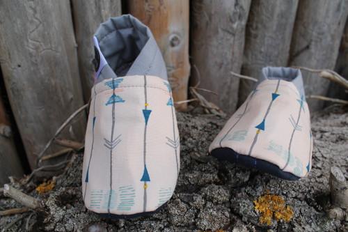 Dětské barefoot ťapky Indiánský běh