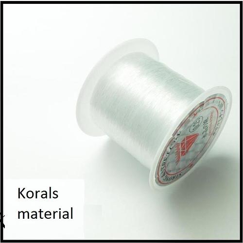 2209  Vlasec silikon pevný Ø0,25 mm návin  200m