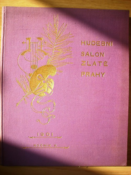 Klavír - Hudební Salon Zlaté Prahy 1901 /noty/