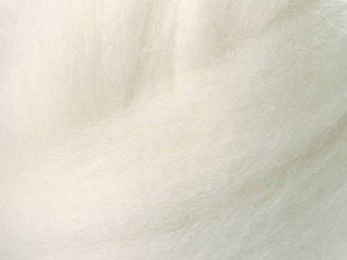 bílé australské MERINO 21 mic – 100 g