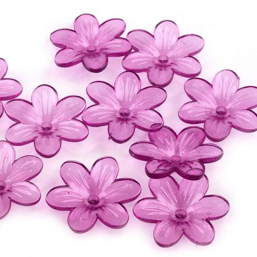 Květ plast Ø26mm 10ks