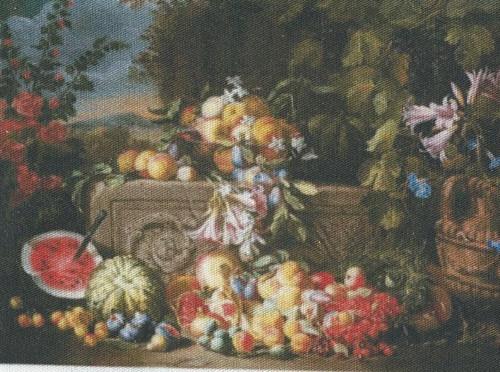 bavlněná látka - panel  9 x 13 cm