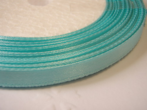 stuha světle modrá šíře 9 mm (1m)
