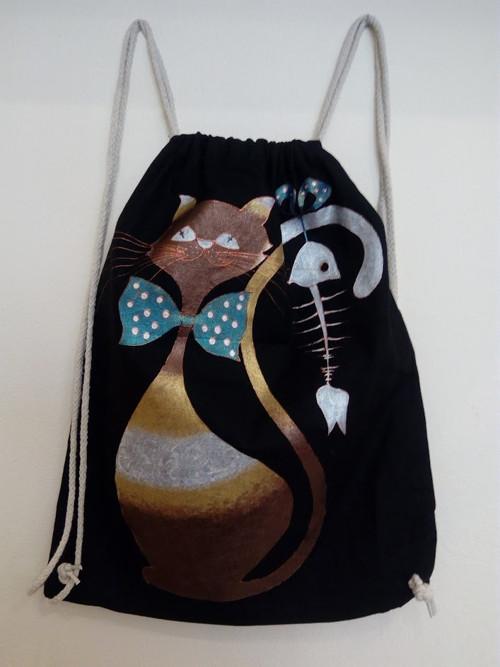 Malovaný batoh