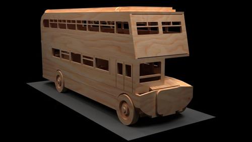 Modely aut   Patrový autobus