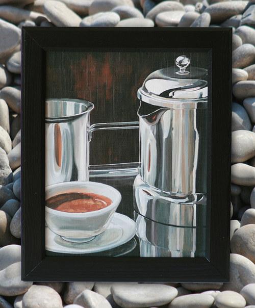Zátiší s kávou I.