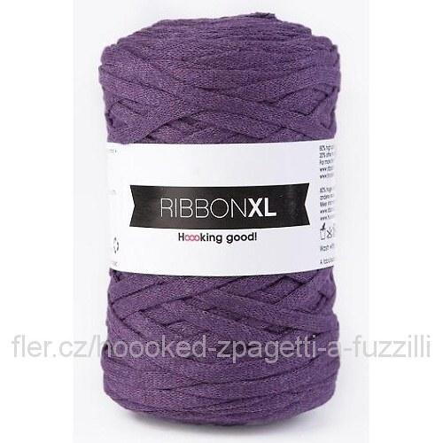 Hoooked RibbonXL - fialová (130 m)