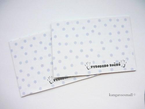 Vyrobeno ručně - kartičky