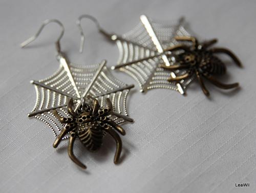Pavouk na pavučině