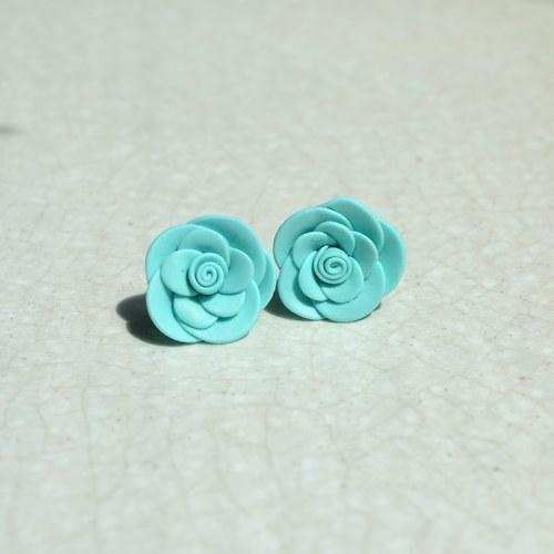 Tyrkysové mini růžičky