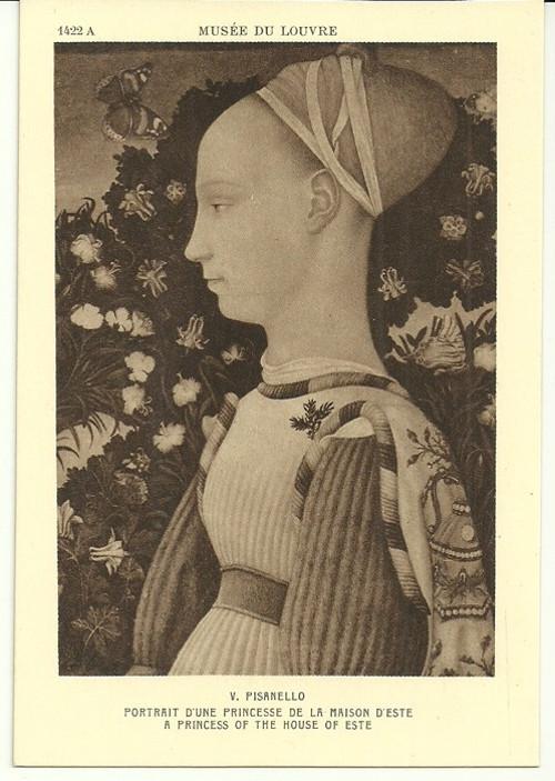 Umělecká pohlednice V.Pisanello