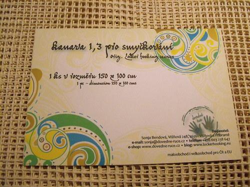 Kanava 1,3 (rozměr 150x100 cm)