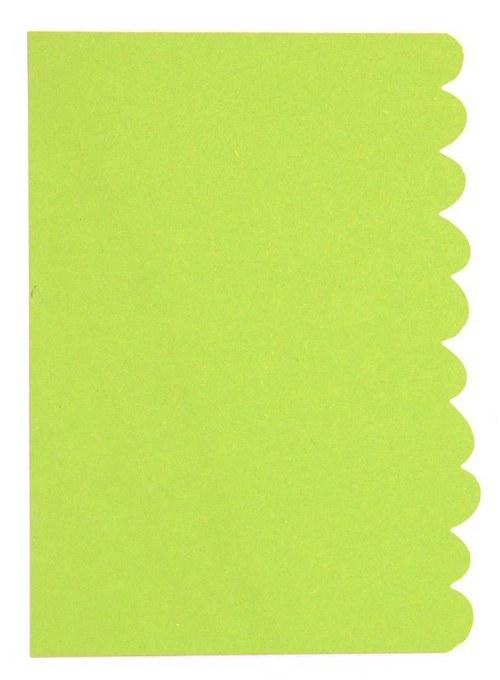 Stránka s bordurou - barva dle výběru