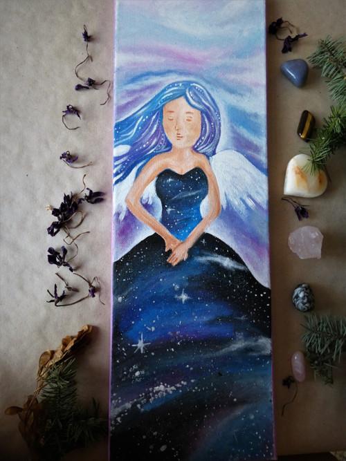 Andělka- Vesmír (20x60cm)