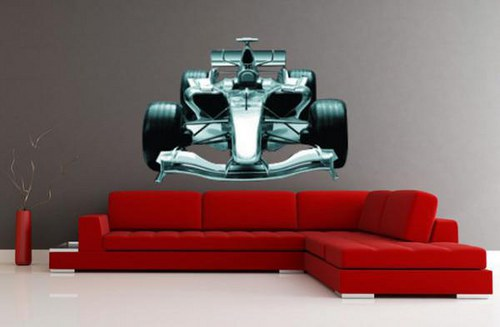 Formula 23x32cm Farebná nálepka 264f