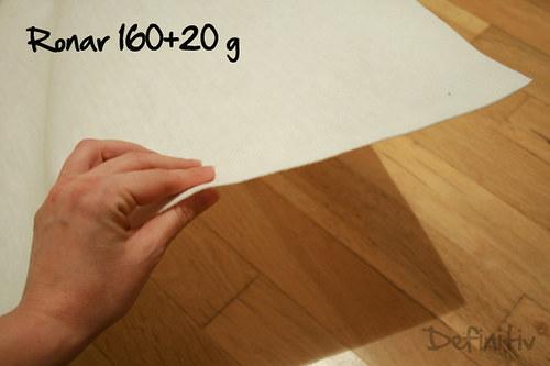 Ronar 160 + 20, šíře 75 cm