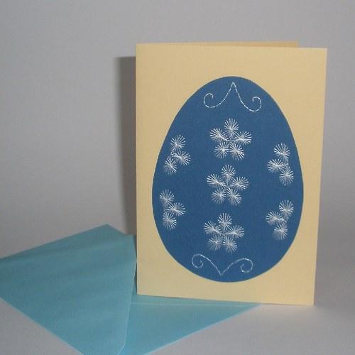 Kraslice modrá