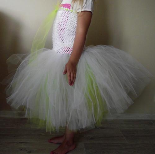 Tutu šatičky s extra hustou 2vrstvou sukní-2-8let