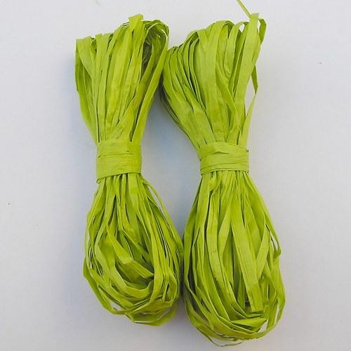 Zelené papírové lýko - 20 m
