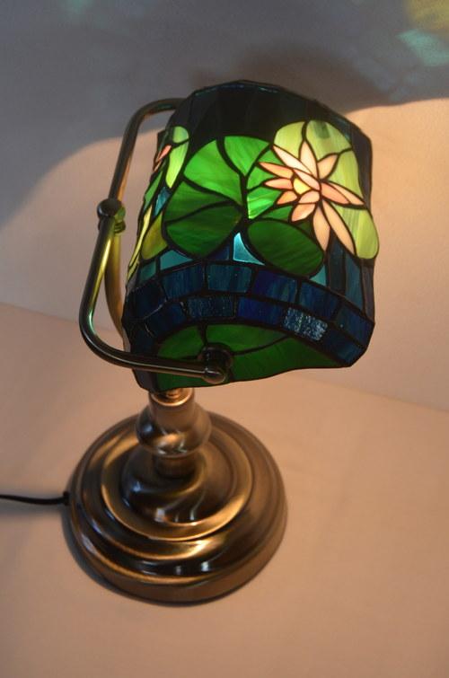 """Bankéřská lampa \""""Lotosový květ\"""""""