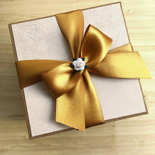 """Krabička na peníze / poukaz / dáreček - \""""přírodní\"""""""