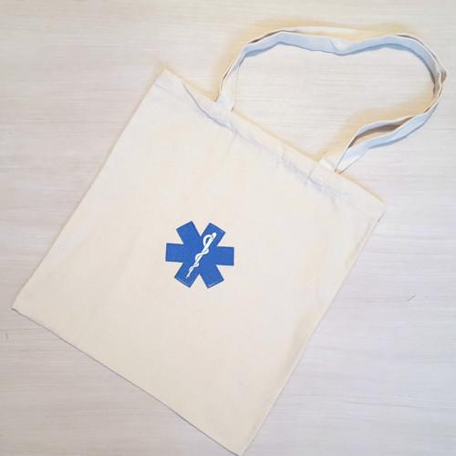 plátěná taška - zdravotnický znak